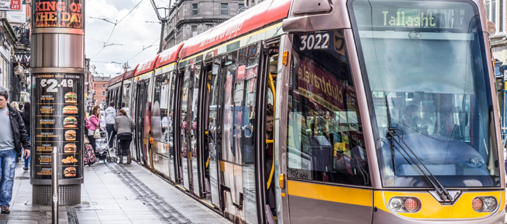 Significant developments in Dublin city centre transport planned