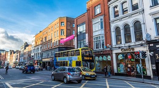Dublin is vibrant! Confidence boosts social activity