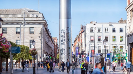 Retail spending in Dublin contracts in Q4