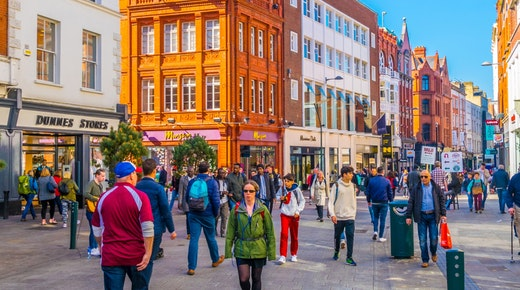 Dublin Retail Spending Stages Modest Fightback in Q2 2021