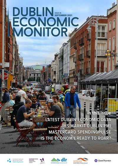 Latest Dublin Economic Monitor shows business activity expanding at fastest rate in 6 years